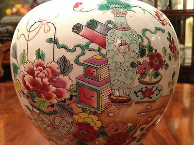 A Rare Chinese Famille Rose Porcelain Vase with Yongzheng Marked and Period.