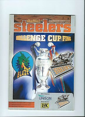 2007  Sheffield Steelers v Coventry Blaze  Challenge Cup Final