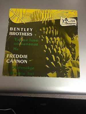 Freddy Cannon/bentley Brothers (Blue Vinyl)