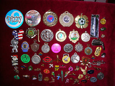 Collectable Badges And Pins Large Collection Of All Sorts