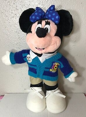 Minnie Mouse Stuffed Animal Plush Toy Collectible Rare Disney Store Exclusive