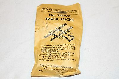 Buy It Now! 14 In The Box American Flyer 26693 Track Locks Must See,must Have!