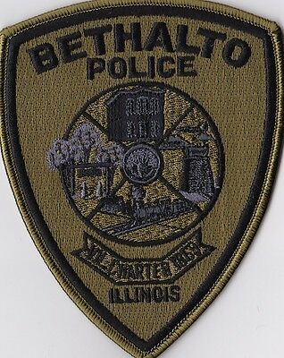 Bethalto Police subd. Police Patch Illinois IL NEW!!