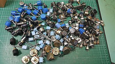 Large Collection Of Top Brand Potentiometers 167 Pcs , Bourns , A-B, Spectrol ,