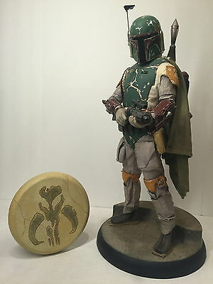Sideshow 1/4 BOBA FETT Premium Format EXCLUSIVE Star Wars Darth Vader Hot Toys