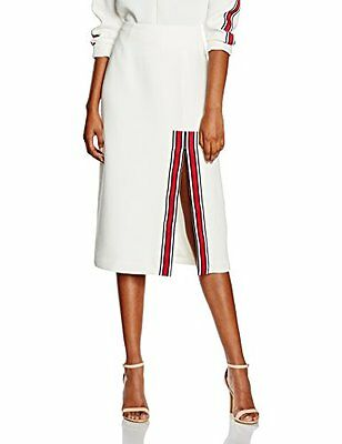 Bianco (TG. 36) C/MEO COLLECTIVE A Better Tomorrow Skirt, Gonna Donna, Bianco, 3
