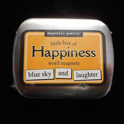 Magnetic Poetry Little Box of HAPPINESS Word Magnets