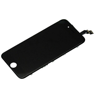 """iPhone 6 - 4.7"""" Replacement Full Front Screen LCD and Digitizer Assembly BLACK"""
