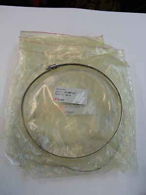 """4 Stainless Steel Hose Clamps 190-210Mm (7.5""""-8.25"""")"""