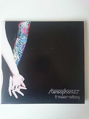 """Stereophonics - It Means Nothing Gatefold 7"""" single (clear vinyl)"""