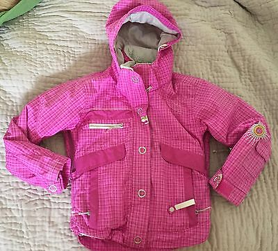 Obermeyer Girls Pink 10 Jr Ski Snow Jacket Coat