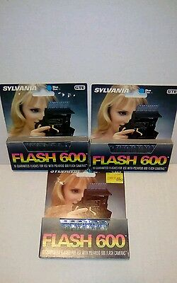 Flash 600 Vintage Flash Bars For Polaroid 600 New Lot Of 3
