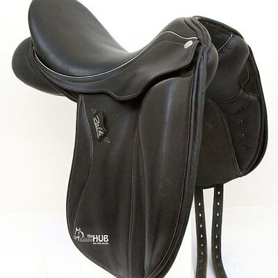 Zaldi Sanjorge 17.5inch Dressage Saddle