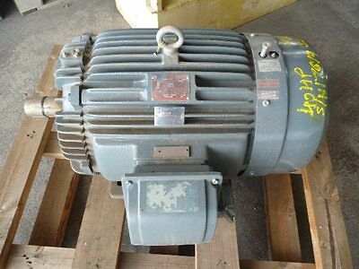 Teco 40Hp 3 Phase Electric Motor/ 2955Rpm