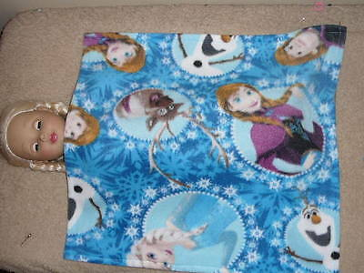 "Characters/ Frozen Fleece Blanket for 18"" Doll Clothes American Girl"