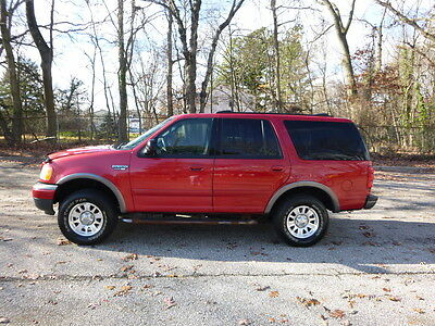 2001 Ford Expedition XLT 2001 Ford Expedition XLT AWD/4x4