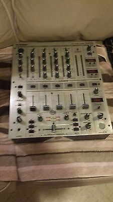 Two Stanton C.314 Cdj turntables and a 4 channel Behringer mixer