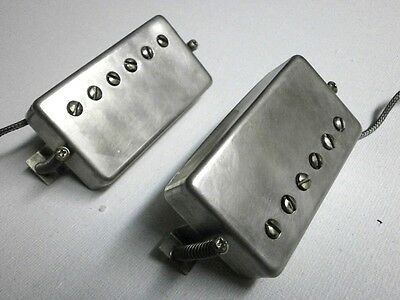 Humbucker Pickups PAF RELIC AGED Vintage Look Fits Gibson SG LP Greco Tokai Epi