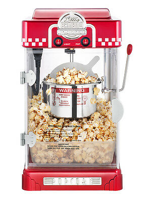 New Commercial & Household Popcorn Machine 300W Stainless Steel Pot 220V