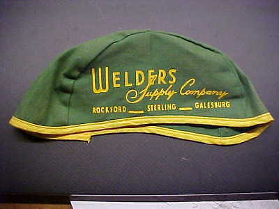WELDERS SUPPLY COMPANY Rockford Sterling Galesburg IL Cloth Advertising Hat Cap