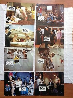 Doctor in Trouble  - complete set 8 lobby cards - Harry Secombe -Leslie Phillips