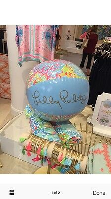 Lilly Pulitzer Beach Ball GWP from May 2016 New in Package