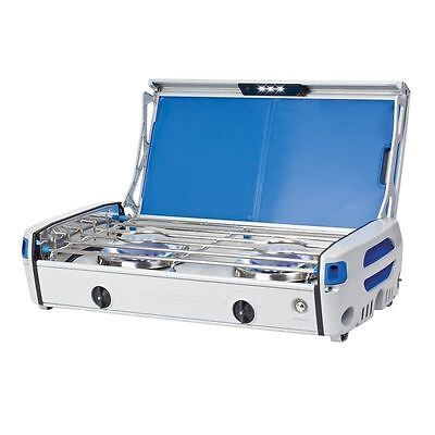 Chef Alloy 2 Burner Stainless Steel Gas BBQ