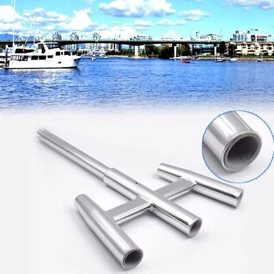 3 Trident Aluminum Fishing Rod Holder Cluster Kite For Boat Kayak AU Shipping