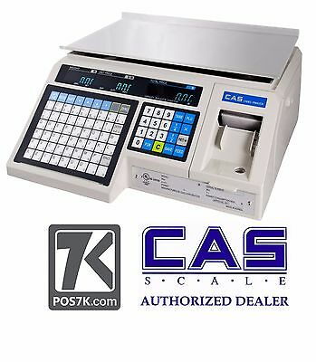 CAS LP-1000N  NTEP Label Printing, Market, Deli, Food Scale &Labels LP1000N