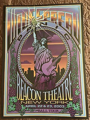 Widespread Panic New York City 2003 official concert poster Duncan Harden