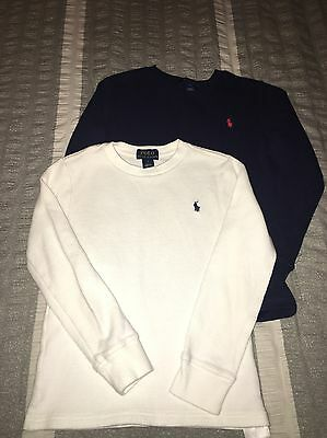 LOT of 2 Boys Polo Ralph Lauren shirts (size 7)