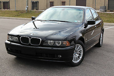 2002 BMW 5-Series Base Sedan 4-Door 2002 BMW 530I BLACK ON BLACK GREAT CONDITION