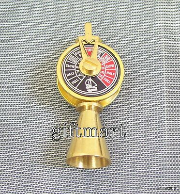 Brass Vintage Style Antique Brass Telegraph Necklace Key Ring Gift