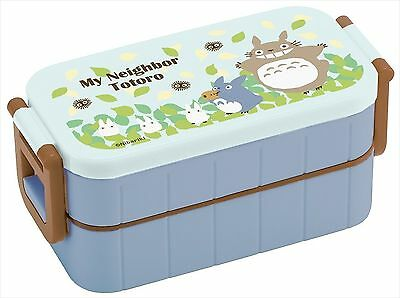 My Neighbor Totoro,Thermal Bento Lunch box,2-container from Japan F/S