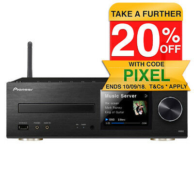 Pioneer CHM82-K Micro Sound System Head Unit/CD Player for USB/iPhone/Bluetooth