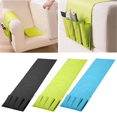 Multifunctional Remote Control Organiser Storage Bag Holder Chair Couch Sofa