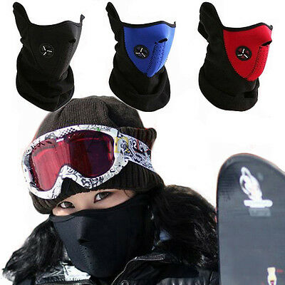 New Bike Motorcycle Ski Thermal Face Neck Warmer Mask Balaclava Outdoor Sport