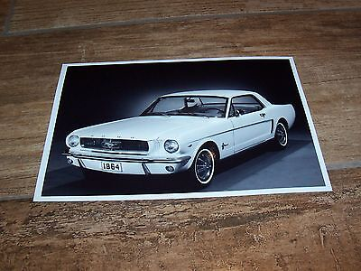 Photo de presse / Press Photograph FORD Mustang  1964 //