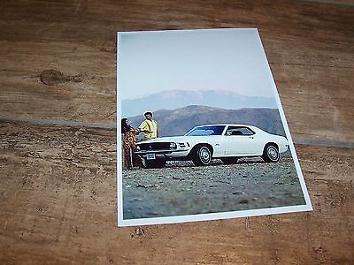 Photo de presse / Press Photograph FORD Mustang 1970  //