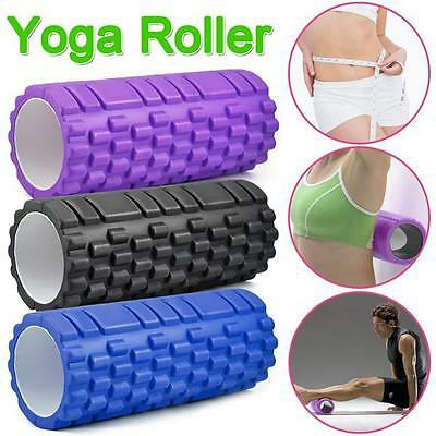 Trigger Point Foam Massage Roller Grid Exercise Therapy Yoga Physio Fitness New