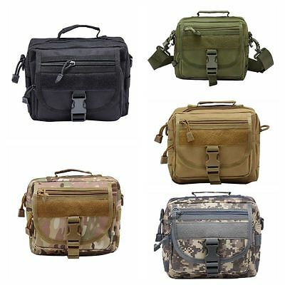 Outdoor Army Tactical Military Waist Pack Shoulder Bag Camping Hiking Pouch
