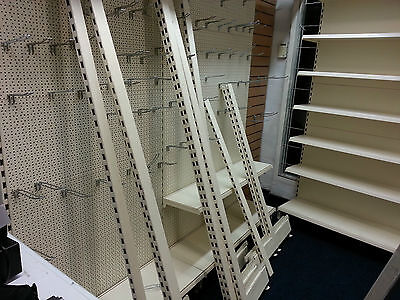 Shelving For Shop, In Good Condition , To Clear
