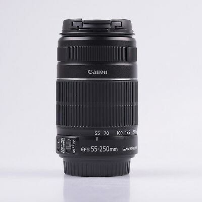 Canon EF-S 55-250mm f/4-5.6 IS II (Caja Blanca)