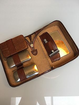 ** VINTAGE ** Hipster Men's Grooming Set - Great Condition