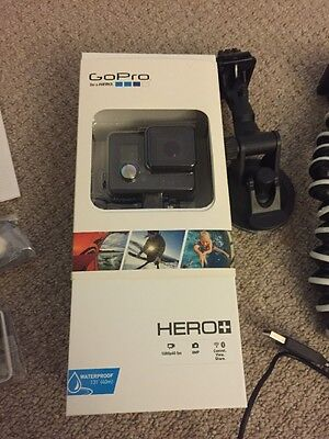 Boxed GoPro HERO+ Plus Camera Camcorder - Black With Full Accessories Pack