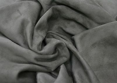 Suede Hides Genuine Lambskin Pure Suede Leather Full Hide Swatch Sheet Piece 9