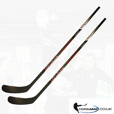 2pack CCM CS400 Grip Ice Hockey Sticks Flex  Senior Hokejam.co.uk