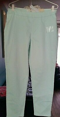 Ladies mint ankle length pullon pants size 12 new with tag ŔRP $50