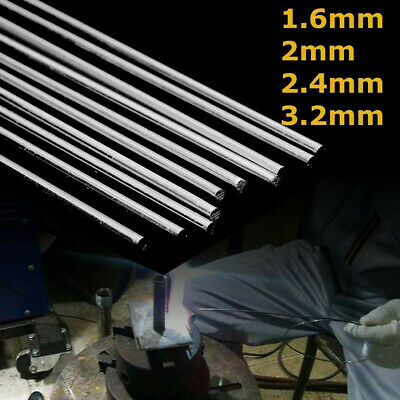 10pcs 1.6/2/2.4/3.2mm Aluminum Magnesium Low Temperature Welding Brazing Rod