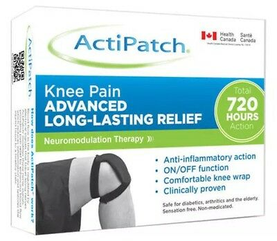 Actipatch Electromagnetic Drug Free For Knee Pain Sport Injuries New Sealed